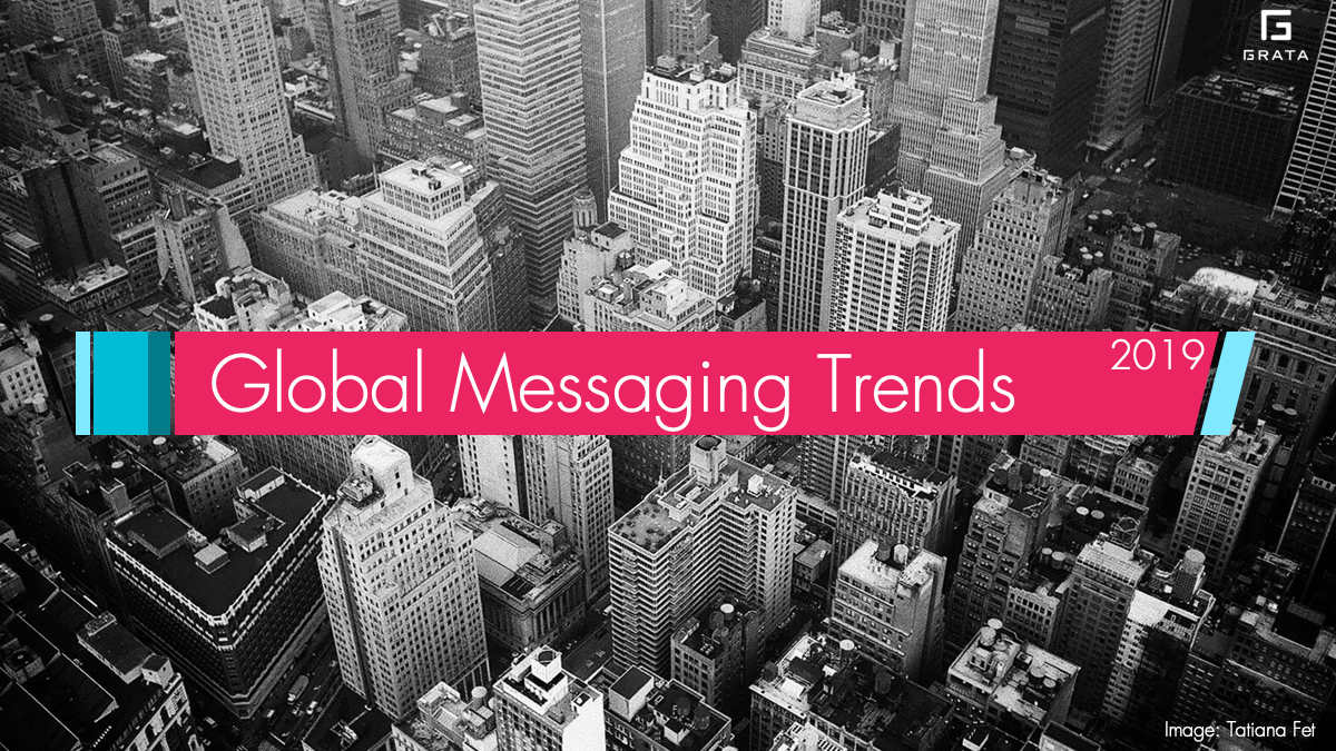Global Messaging Trends 2019